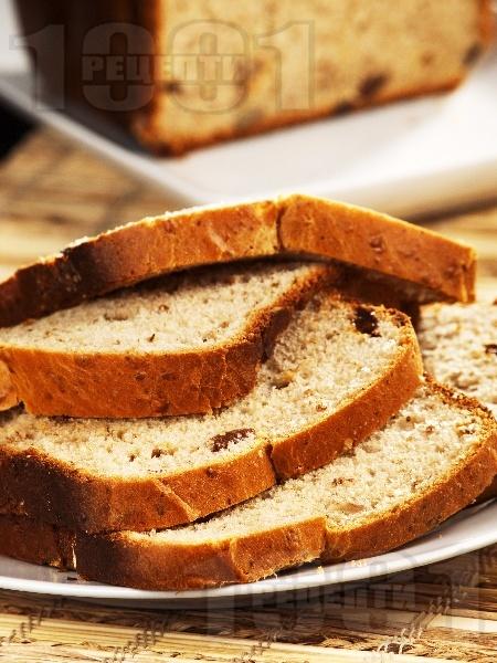 Козуначен хляб за хлебопекарна - снимка на рецептата